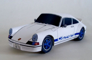 Porsche 911 Carrera RS Papercraft